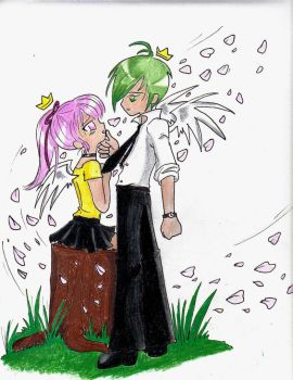 Cosmo and Wanda anime style by TheTeaMaker