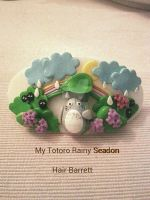 My Totoro Rainy Season Barrett by AngelicLight100