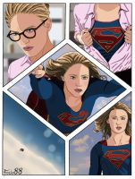Supergirl by Fede88art
