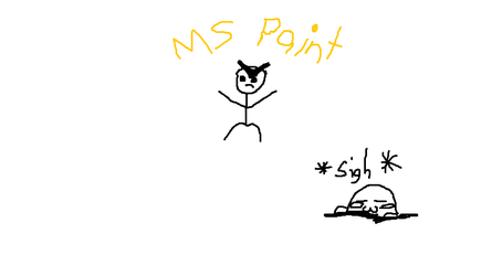 Ms paint by MoonBlobfish