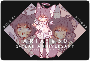 [CLOSED] 3-Day Auction ARIA + EVENT open by whitepaperrabbits