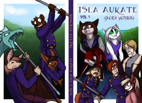 Isla Aukate Sketch version Cover by Foxenawolf