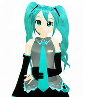 MMD - Twisty Twintails by Aira-Melody