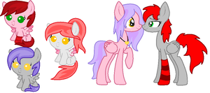 RC x Snake Tail Breedable Adoptables CLOSED by LittleSnowyOwl