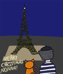 Christmas In Paris (GIF) by zzkitty42