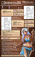 Commission Pricelist (Commissions are - Closed) by Skie-Maree