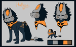 Hallow - Character sheet by Pointou