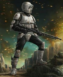 Scout Trooper by Robert-Shane