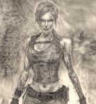 Lara Croft - Detail 1 by Anthony-Woods