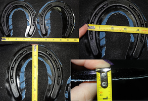 Rubber Hand Horseshoes by DreamVisionCreations