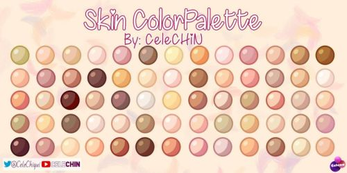 Skin ColorPalette by CeleCHIN