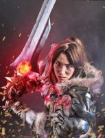 Queen Varian Wrynn (World of Warcraft) Cosplay by ChibiFanGirl