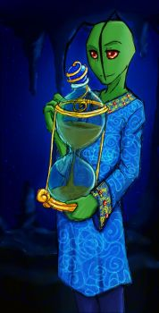Fairy Tale - The Hourglass by hierophant