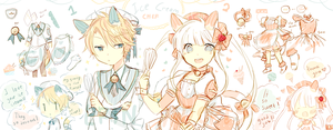 LineHeart #30-31:closed [Ice Cream Chef] by ErinAdopts