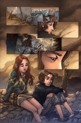 Cherubs Page Color by mennyo