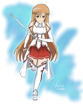Sword Art Online-Asuna by veronager