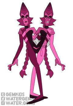 [P] Synthetic Rutile Twins by watergems