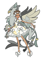 Magical Girls - Gryphon by oxboxer