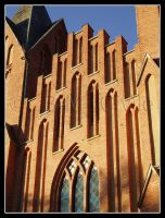 Kristinehamn's Cathedral by Alterian