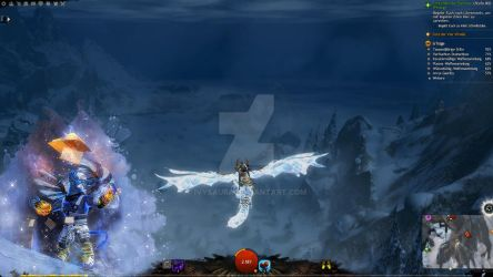 Guild Wars 2 Overlay | Chat Cover Guardian by Ivysaura