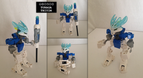Bionicle MOC: Turaga Thiyim by Hexidextrous
