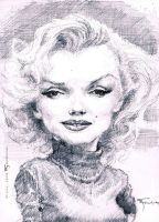 Marilyn Monroe by FedeBengoa