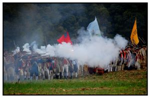 Volley Fire by MauserGirl