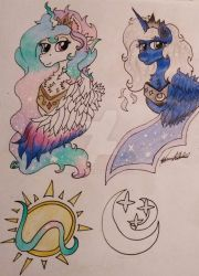 Mlp (NG) Heirs to the Sun and Moon by Monse2001