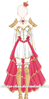 [SOLD] Queen Armour Adoptable by Aloise-chan