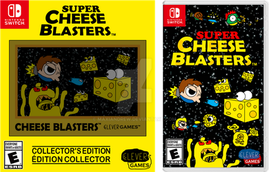 SCB Collector's Edition + Game Switch Cover by maxiandrew