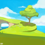 Cliff Side- critic please by ieafy