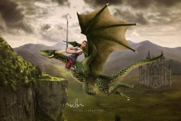 Boy On Dragonfb by MichellewBradford