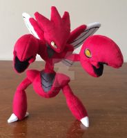 Scizor Pokemon Plush ! 13'' Poseable