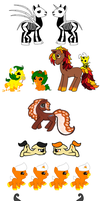 Halloween Adopts CLOSED by Pony-Paradice
