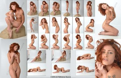 Stock:  Kaitlyn 24 Artistic Nudes by ArtReferenceSource