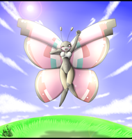 Vivillon Anthro