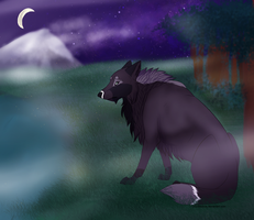 WoLf .:. A Rock and A Hard Place .:. Ezra by DoodlieDoos