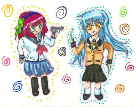yuripee explore yuripee on regular sketcher 9 4 yuripee and kanade by blackrose8009