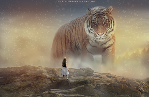 The Tiger and The Girl by Angelina002