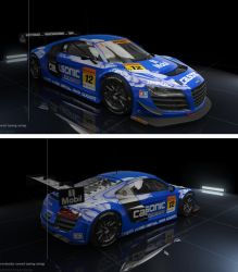 pCARS Audi R8 LMS Ultra - Calsonic by jamesaevans