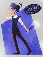 Corvus [OC by ShaeDurii] by VanadiumValor