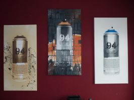 Just spray paint collection by Burgi687