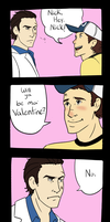 Left 4 VALENTINES by Cain-the-Smexy