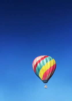 hot air balloon 1 by yellowicous-stock