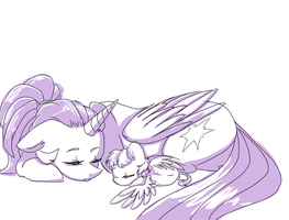 Mother and Daughter Alone Time. by yuyusunshine