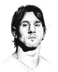 Messi by MaybeLady