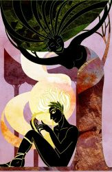 Music Moves the Leaves -Apollo and Daphne by dancingheron