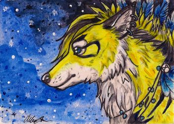 Storm--May ACEO Trade by DarkMoon17