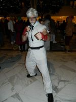 Colonel Sanders Street Fighter Katsucon 2016 by bumac