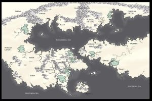 Dreamlands Map by MythAdvocate